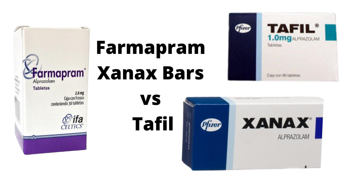 Farmapram xanax bars vs Tafil | Buy farmapram xanax bars | farmapram xanax bars | Mexican Alprazolam| Farmapram 2 mg