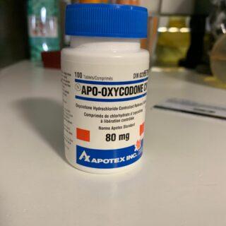Apo Oxycodone CR 80mg | Order Apo Oxycodone CR 80mg Online | Apo Oxycodone CR 80mg For Sale | Where To Buy Apo Oxycodone CR 80mg